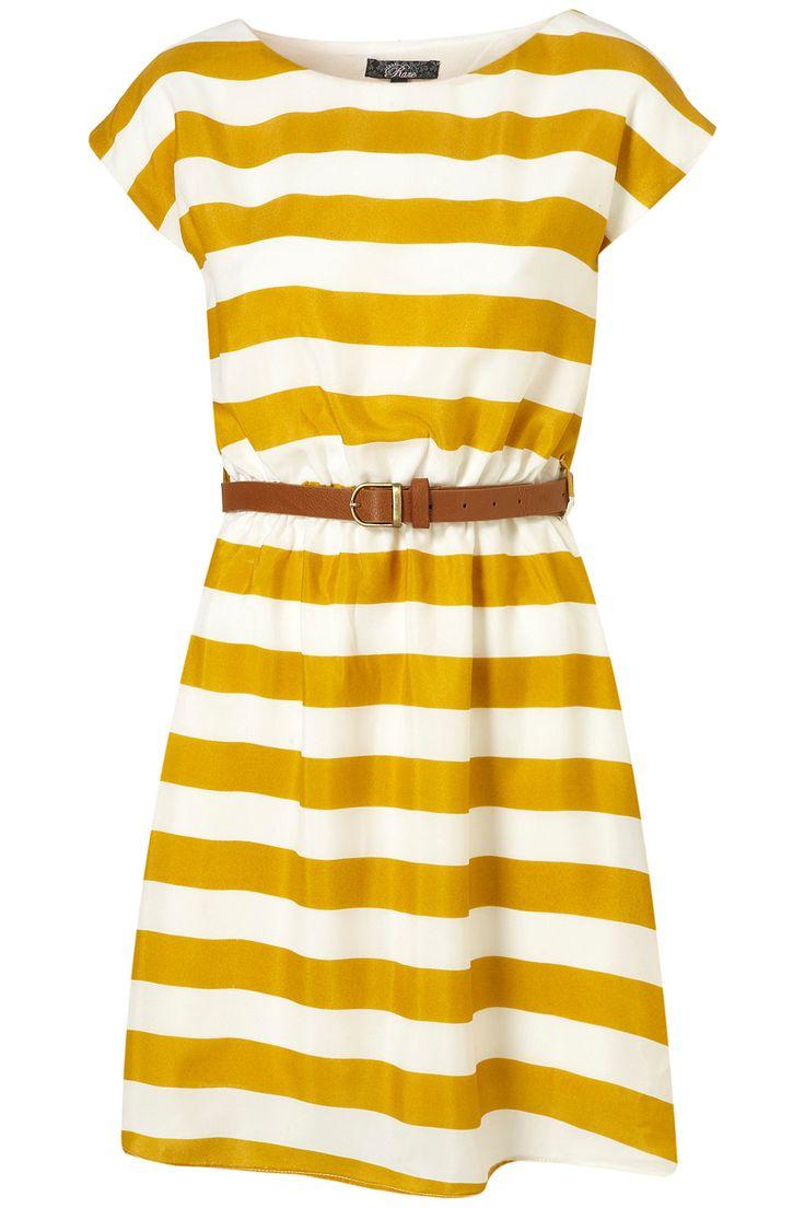 The dress images - 20 Spring Finds At Etsy Belted Dressstripe Dressthe