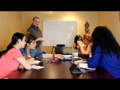 Teaching Speaking Fluency & Conversational English - Intenrnational TEFL Academy TEFL class - YouTube