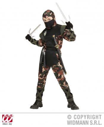 Verkleidung Ninja Krieger Kinder Gr158 Cm Kostüm Soldat Ninja