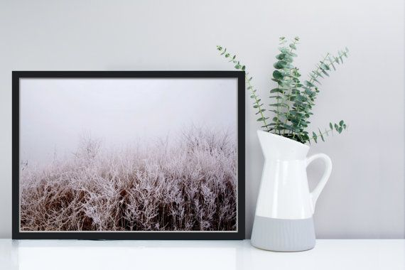 Icy winter photography minimalistic landscape photo by TheClayPlay