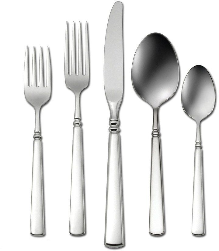 Oneida Easton Contemporary Stainless Steel Flatware