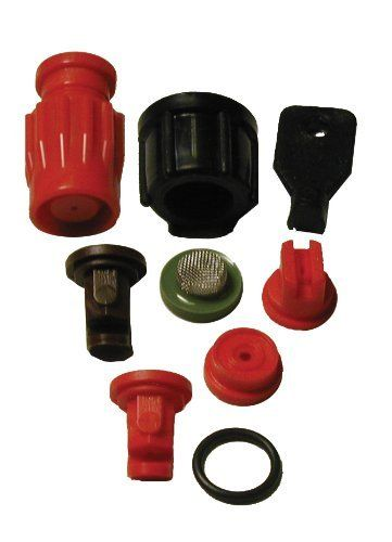 Solo 0610456-P Sprayer Nozzle Assortment by Solo. $15.52. Genuine solo replacement parts. Includes plastic adjustable and no drift nozzles. Includes flat fan and hollow cone nozzles. Fits all Solo sprayers except one-hand sprayers and ecs series. Made in the usa. Solo nozzle assortment. Premium interchangeable nozzle for precise pressure, droplet size and spray patterns. Overall assortment includes: flat spray nozzle, hollow cone nozzle, no drift nozzle and plastic adjustabl...
