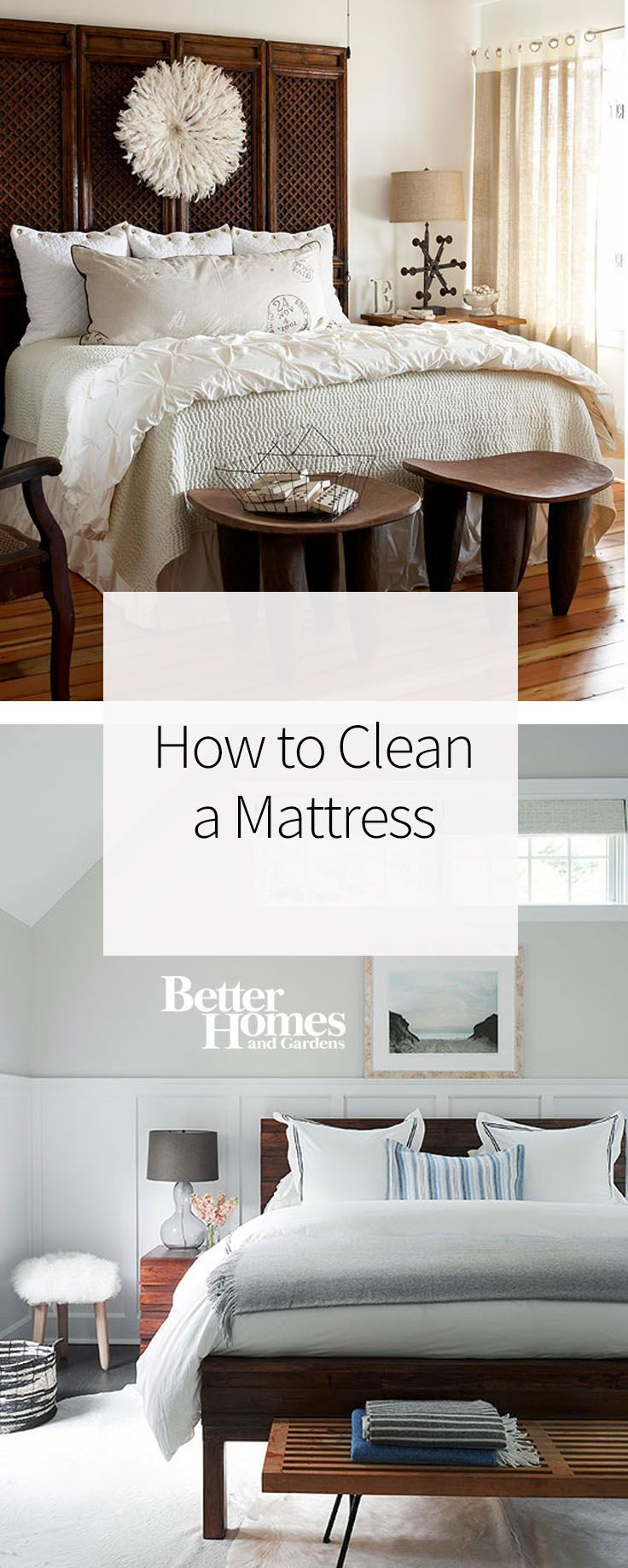 How to clean your bed - Remove Stains And Eliminate Dust And Dust Mites With These Easy Ways To Clean A Mattress