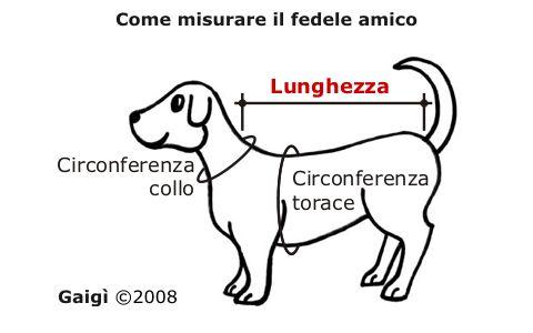 Come prendere le misure per fare un cappottino al proprio cane - Gaigì ©2008