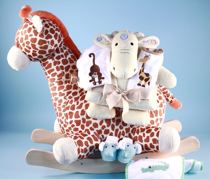 19 best safari babies images on pinterest baby shower gifts giraffe rocker personalized baby gift wont baby love taking a ride across the negle Images