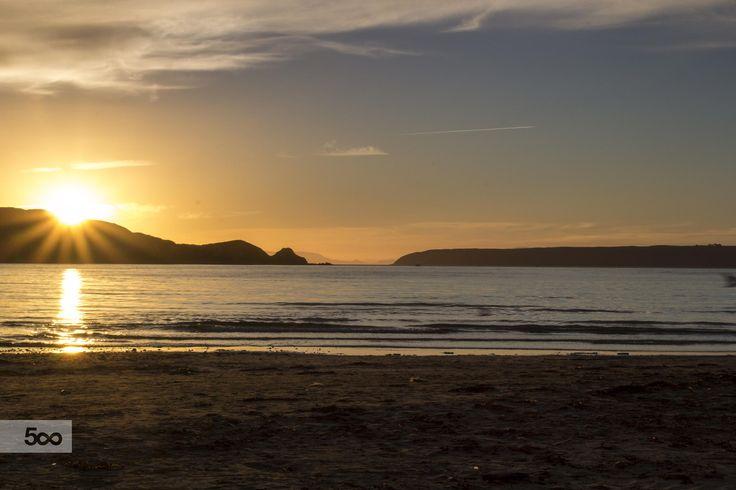 Sunset, Petone, Wellington, New Zealand. by Fraser Punt on 500px