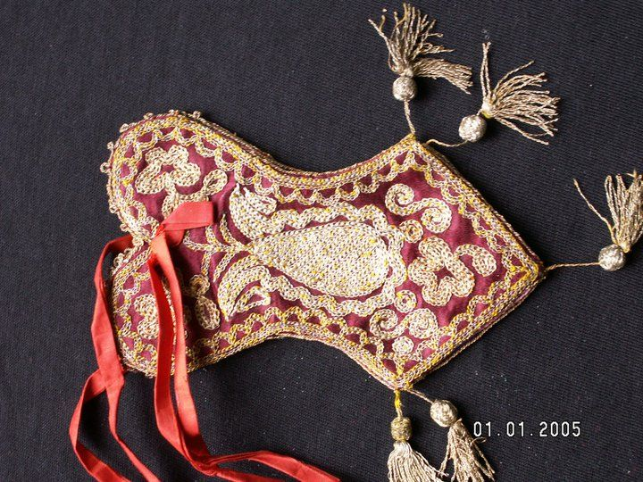 Crimean Tatar embroidery. Pouch. Collection of Nizami Ibraimov