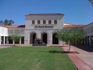 アリゾナ州フェニックスの名所。ハード美術館