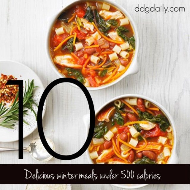 Light as falling snow: 10 warming Winter meals under 500 calories - dropdeadgorgeousdaily.com