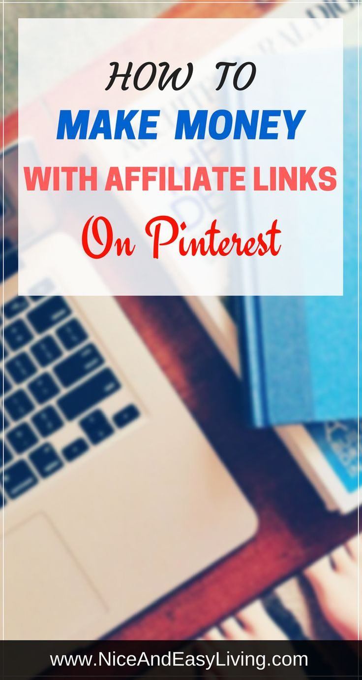 How to make money with affiliate links on Pinterest    #blog #Blogging #marketing #makemoneyonline