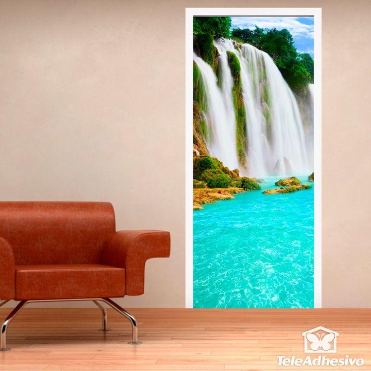 Pegatinas de vinilo con bonitos paisajes en teleadhesivo for Vinilos murales paisajes