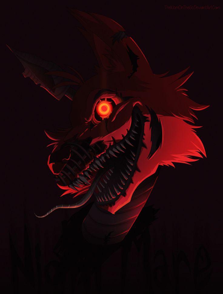 Nightmare Foxy Fnaf Foxy Fnaf Drawings Foxy Wallpaper