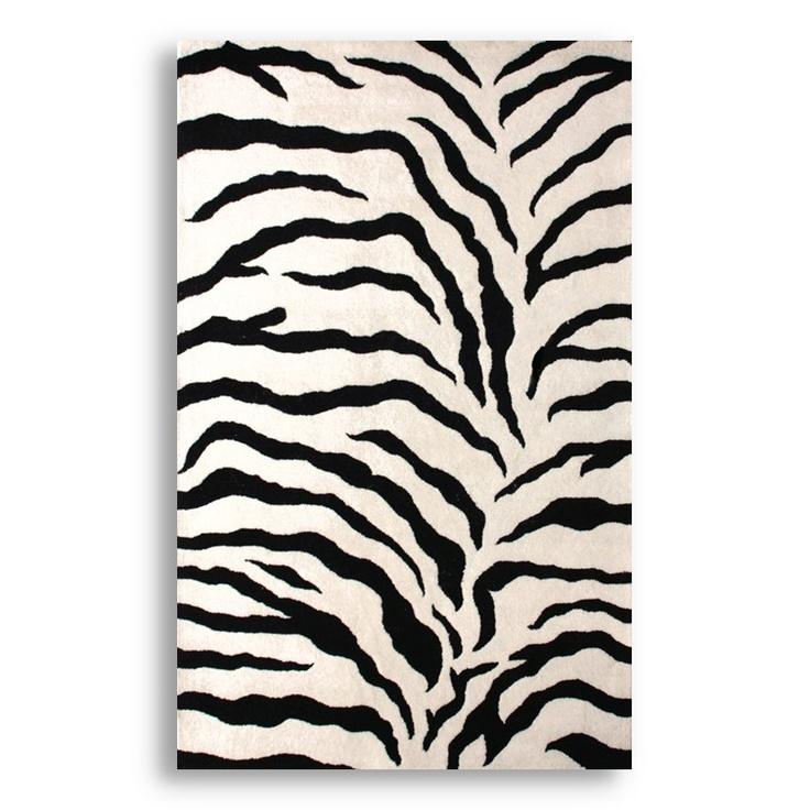 29 Best Zebra Print Area Rug Images On Pinterest