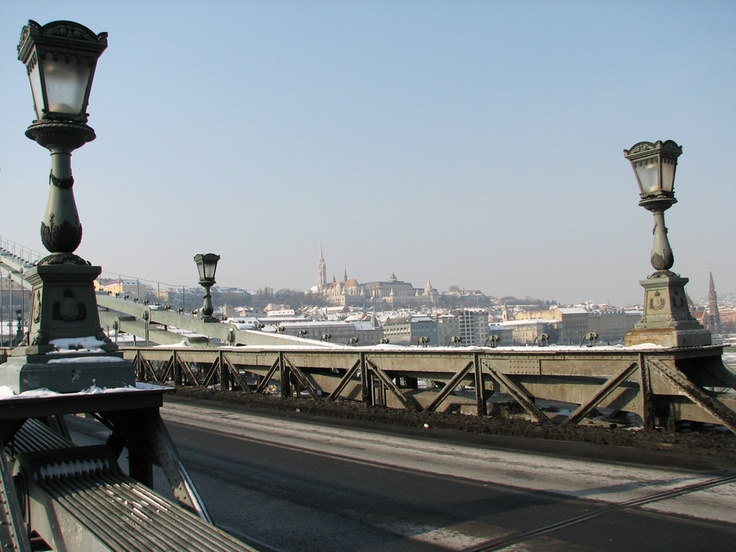 Budapest | View of Matthias Church from the Szechenyi Chain Bridge  credit: Budapest Pocket Guide #budapest