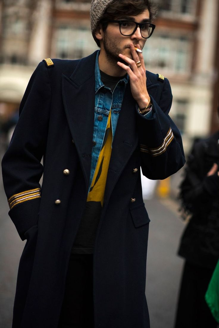 Street fashion for men