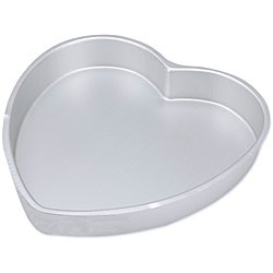 @Overstock - Make your cake special with a heart-shaped cake pan from Wilton  Wilton, the leader in cake decorating tools, only deals with the best    Wilton bake ware is the choice of serious bakers for wedding cakes and other special occasionshttp://www.overstock.com/Crafts-Sewing/Decorator-Preferred-Heart-shape-Cake-Pan/3498136/product.html?CID=214117 CAD              15.10