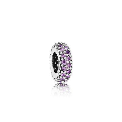 8b24a5a96 ... new zealand inspiration within spacer purple cz 765d9 b21d3 hot pandora  purple pavé stud earringspandora princess ring ...