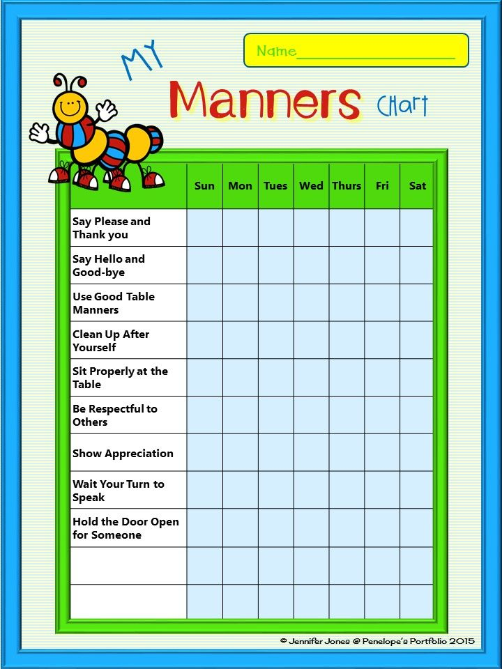 Behavior Chart Help Kids Stay On Track With These Great Versatile