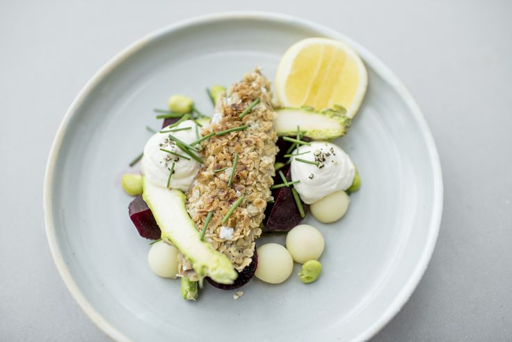 Tom Kitchin's mouth-watering recipe for mackerel with beetroot salad