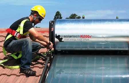 Solar heating, perhaps the simplest of renewable energy solutions, replace element geysers with solar collectors that heat up the water and save upwards of 50% on electricity bills.