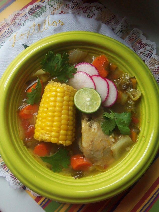 Hearty Mexican Soup (Caldo de Pollo) | Hispanic Kitchen