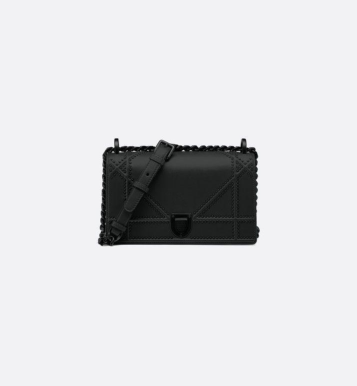 6c495b7dbdd1 small diorama ultra black bag