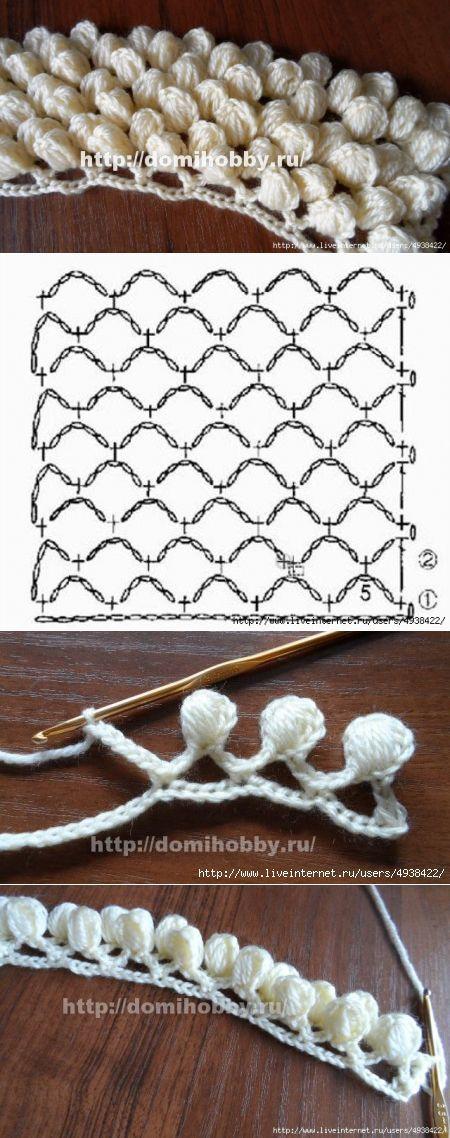 """Crochet Pattern """"ızgara üzerinde diken.""""...♥ Deniz ♥"""