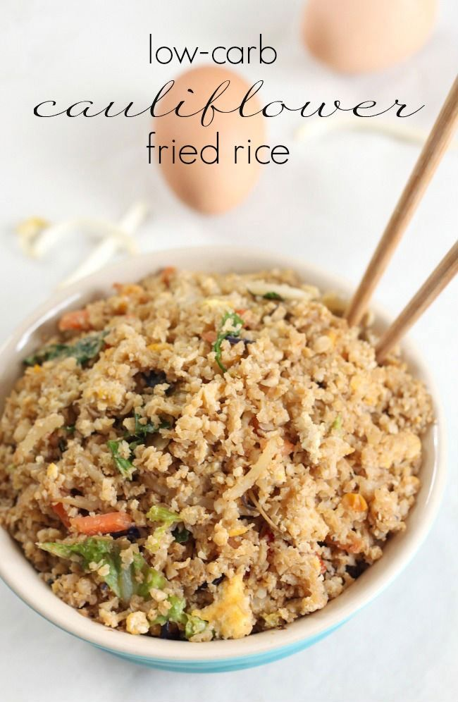 cauliflower fried rice | Recipe | Cauliflower Fried Rice, Fried Rice ...