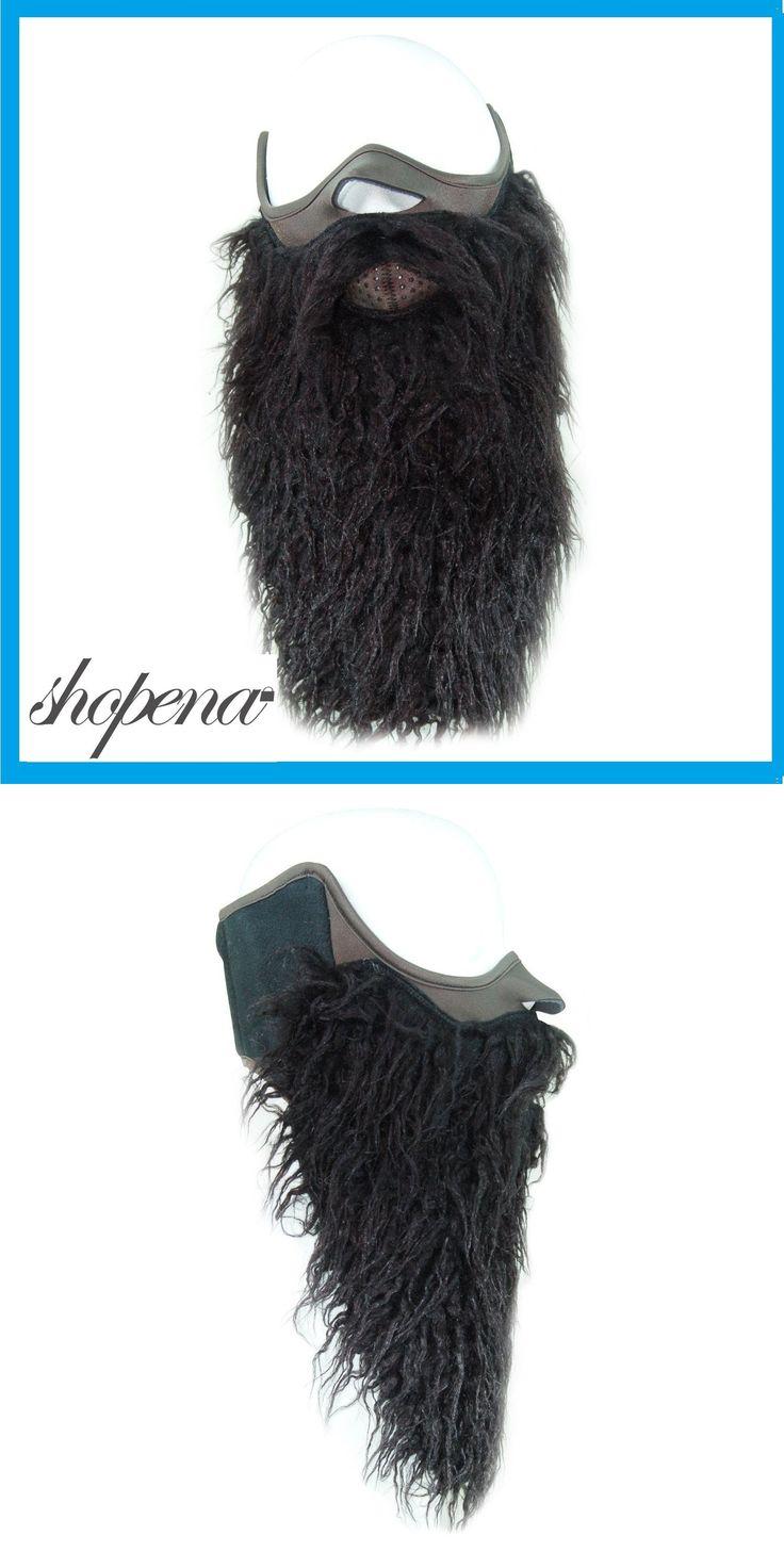 Hats and Headwear 62175: Black Beard Half Neoprene Face Mask Ski Snowboard Motorcycle Biker Warm Funny -> BUY IT NOW ONLY: $34.95 on eBay!