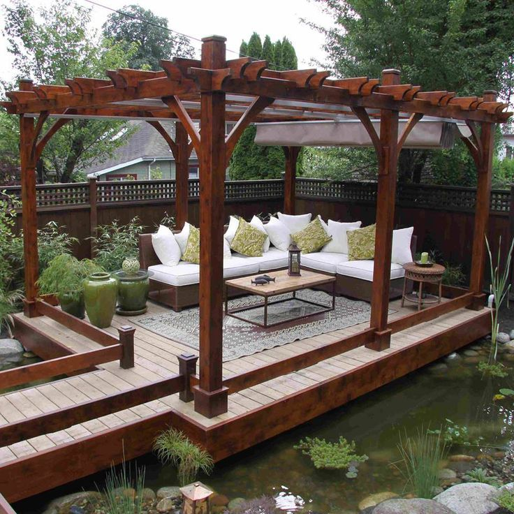1000 ideas about pergola retractable on pinterest for Pergola toile retractable