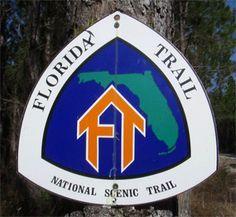 Florida Trail - Econfina Creek, Scott rd trailhead Fountain, Fl. There's a waterfall a few miles in.