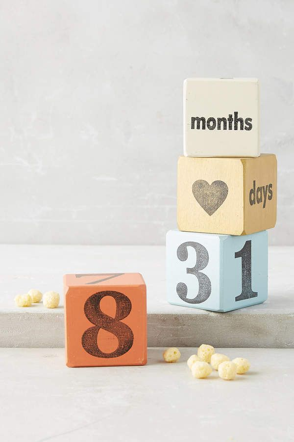 Lee Tree By Kerri Baby Days Blocks Baby Blocks Kids Growth Chart Gifts For Expecting Parents