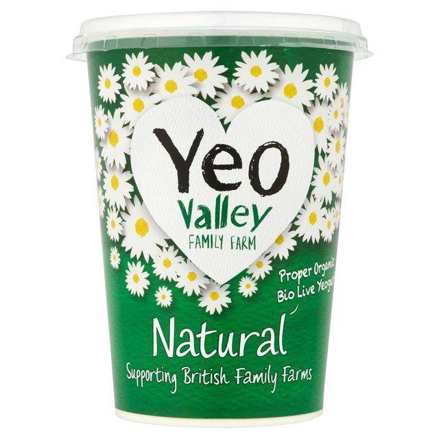 Yeo Valley Organic Natural Yogurt http://www.ocado.com