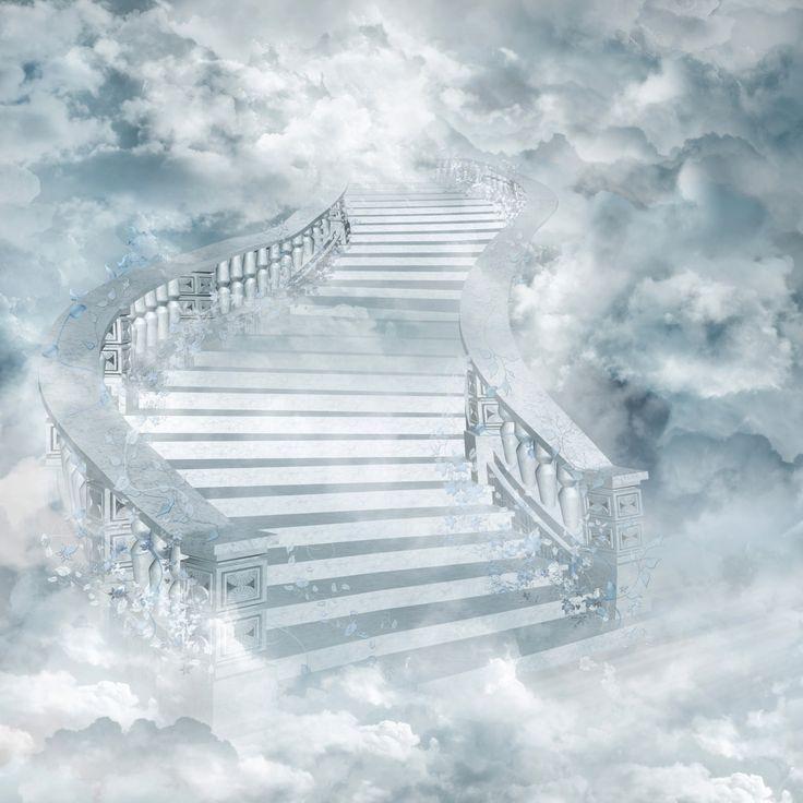 Лестница в небо открытки, спасибо большое подруге