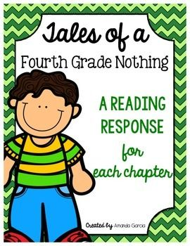 Included in this unit are a variety of Common Core aligned reading responses for every chapter.  These responses check students' understanding, as well as provide them a focus for reading.Students are required to look back in the story to support their thinking with evidence.
