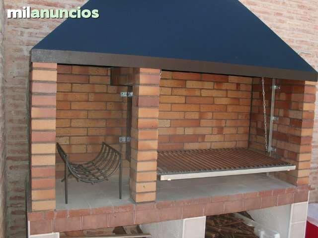 Mobiliario de jardin parrilla diseno - Milanuncios chimeneas de hierro ...