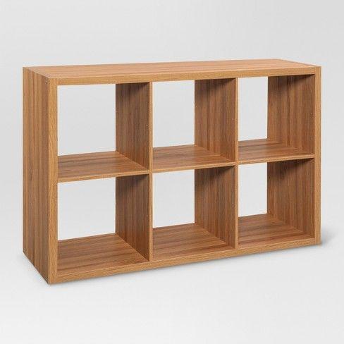 6-Cube Organizer Shelf 13