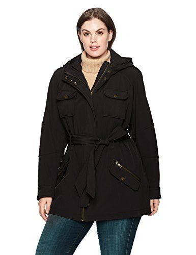 Women s Plus Size Military Softshell Anorak  4ea405d692