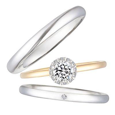 シリアルソリテール セットリング/フローレスダイヤモンド|「Ring Link Ring」で婚約指輪・結婚指輪を探す!