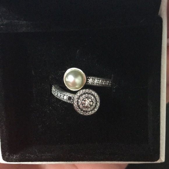 Shop Women's Pandora size OS Rings at a discounted price at Poshmark. Description: One Diamond is missing! Never had time to take it to pandora store since I work crazy hours! Is a size 5. Thought I'll wear it more but I don't.. Sold by tkreidler. Fast delivery, full service customer support.