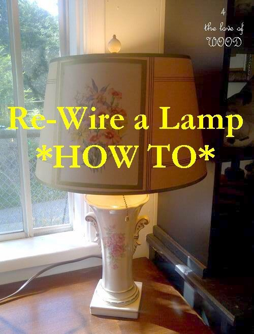 Thanks!: Vintage Lamps, Diy Crafts, Old Lamps, Lamps Rewir, House, Lamps Re Wir, Glasses Lamps, Diy Projects, Re Wir Tutorials
