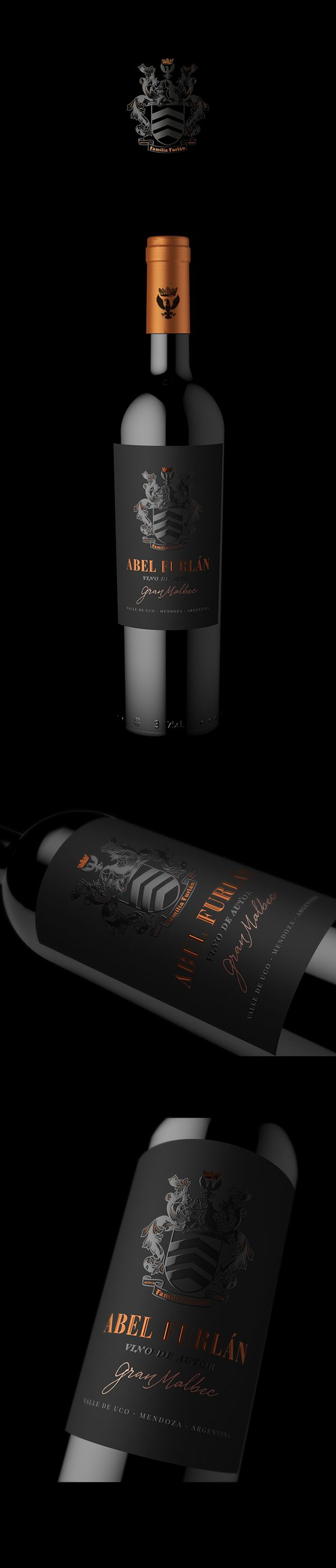 Packaging desgin for ABEL FURLAN Gran Reserva. By @estudioiuvaro