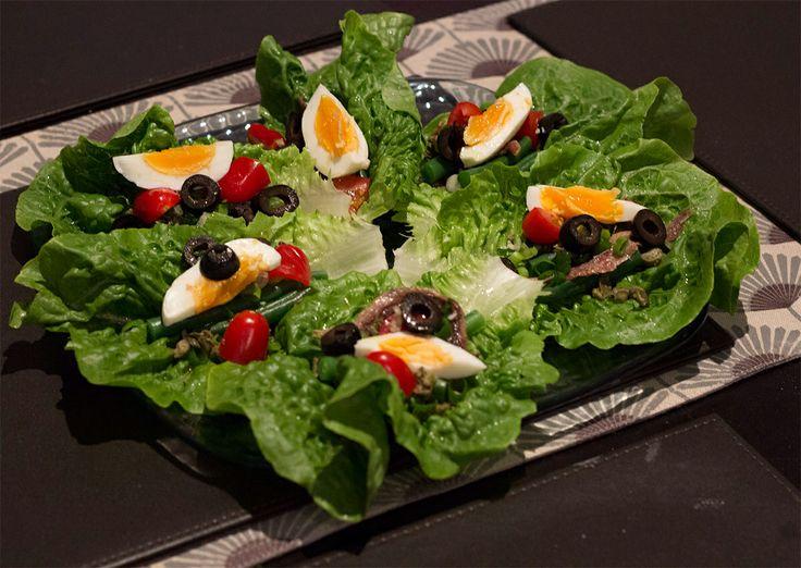 Salad Nicoise Wraps