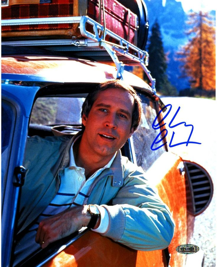 Calm And Cool In Chevy Chase In 2019: Chevy Chase Signed In Car 8x10 Photo En 2019