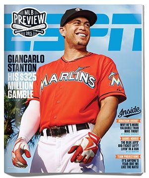 Giancarlo Stanton takes $325 million contract to play for Miami Marlins