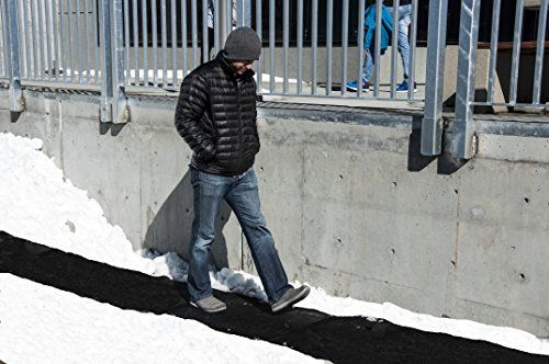 Powerblanket WM36x60 Summerstep Snow and Ice Melting Heated Walkway Mat, Anti-Slip, 120V, 500W, 3′ Wide x 5′ Long, Black