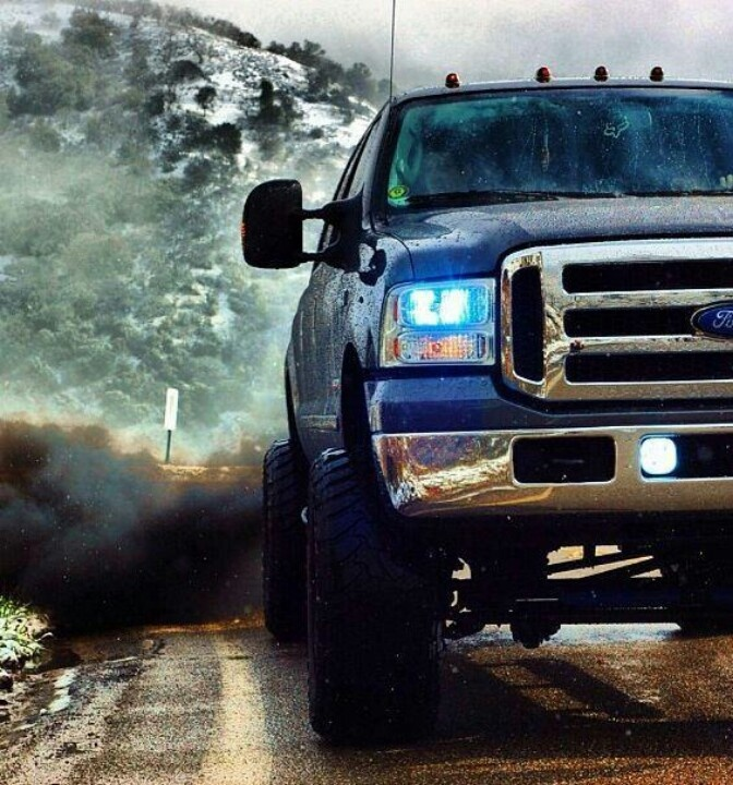 Square Body Chevy Background