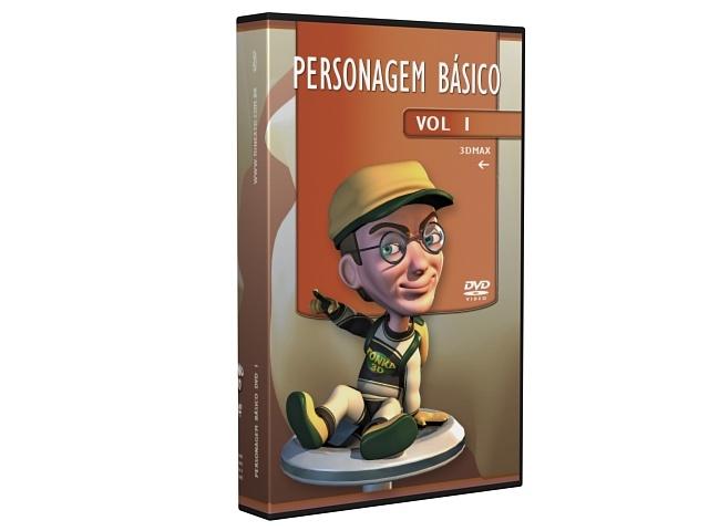 Curso 3D Max Personagem Básico - http://tonka3d.com.br/curso-3ds-max-personagem-basico.html