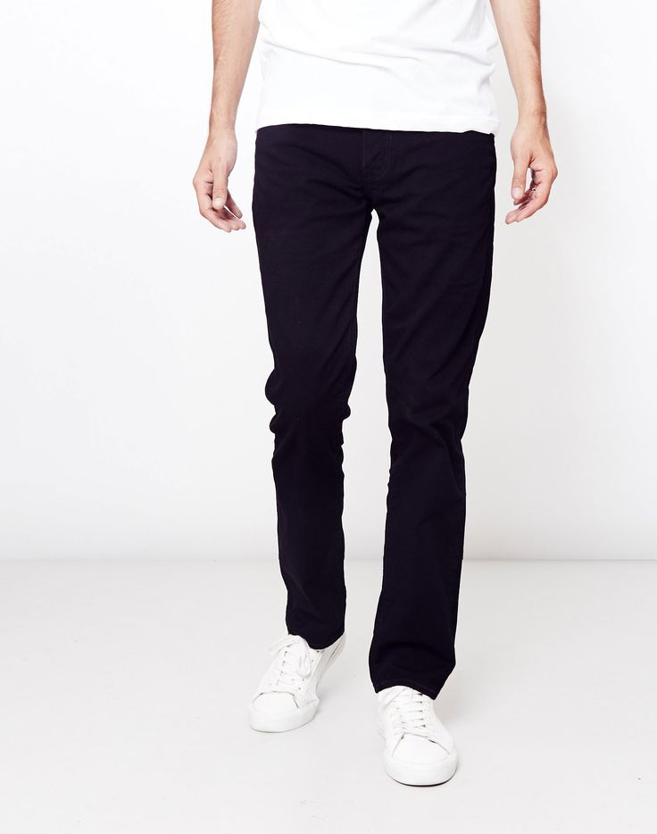 New In | Levi's 511 Slim Fit Coava Jeans in Black | Shop all men's clothing at The Idle Man