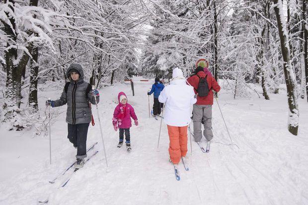 Ce weekend on skiera au Signal de Botrange